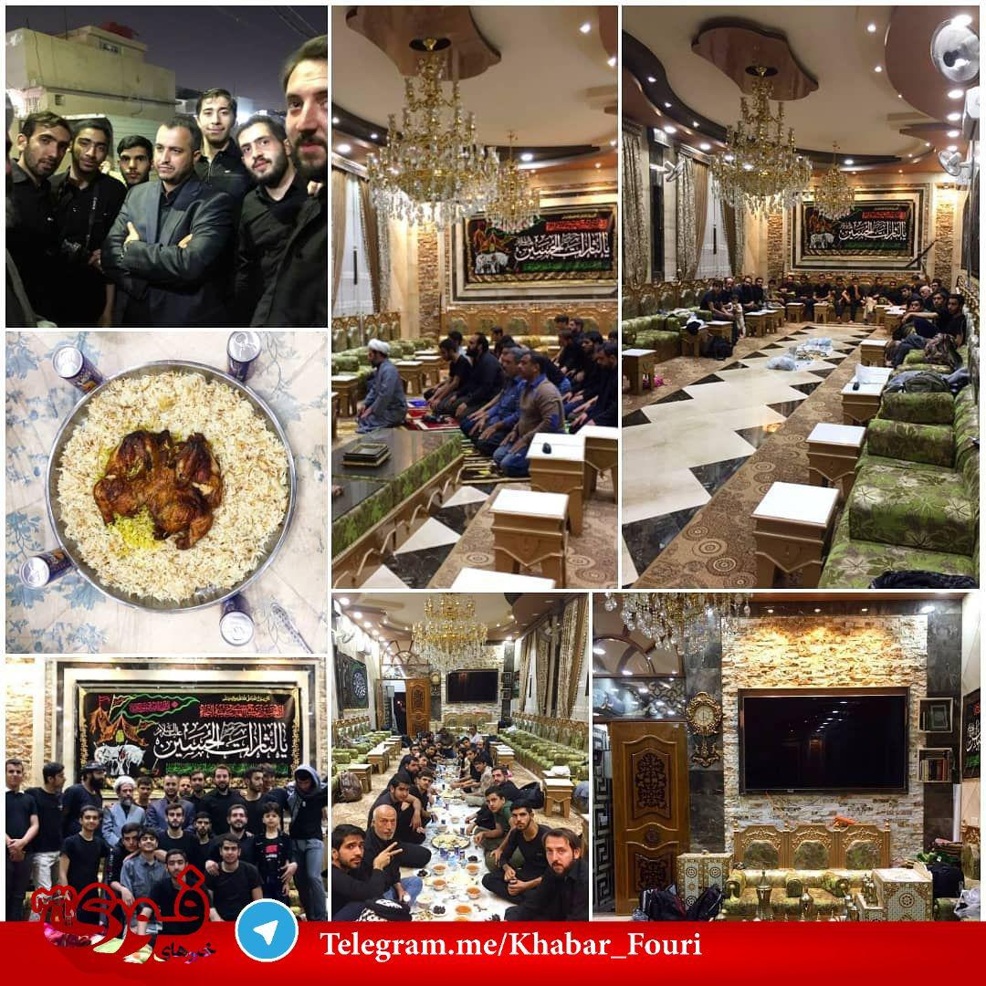 پذیرایی وزیر مسکن عراق از زائران ایرانی در خانه اش + عکس