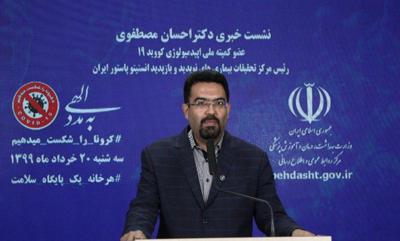 ۱۵ میلیون ایرانی به کرونا آلوده شدند/ احتمال بروز موج دوم و سوم کووید ۱۹ در برخی استانها