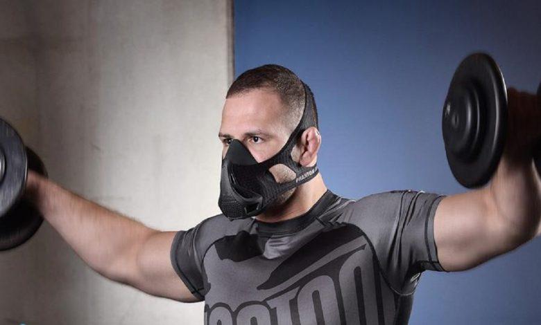 هرگز هنگام ورزش از ماسک استفاده نکنید