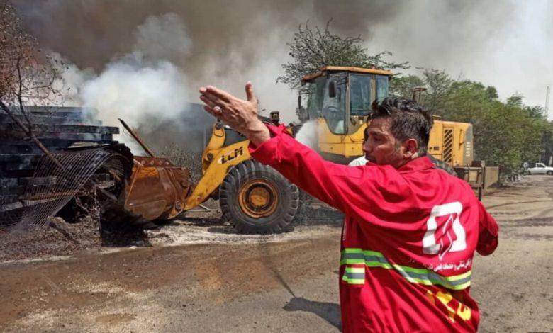 ۵۲ آتشنشان اهوازی به ویروس کرونا مبتلا شدند