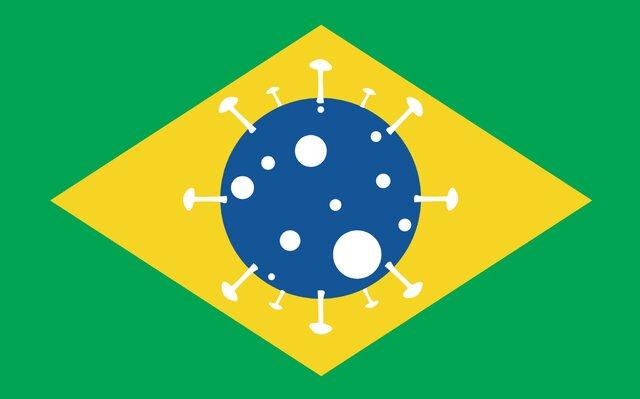 افزایش آمار کرونا در برزیل همچنان ادامه دارد