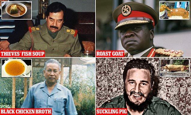 دیکتاتورها شام چه میخورند!