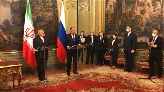 ظریف: ایران و روسیه با رویکردهای غیر قانونی یکجانبه در حل و فصل بحرانهای جهانی مقابله میکنند