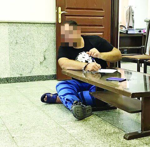 اعدامم کنید و به پسرم بگویید در تصادف کشته شد