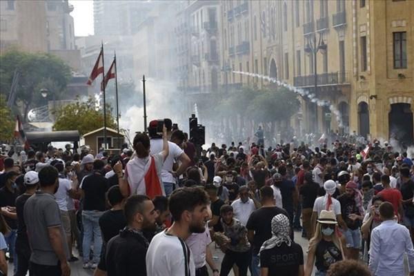 ادامه اعتراضات در شمال لبنان برای دومین شب متوالی؛ ۷۲ نفر زخمی شدند